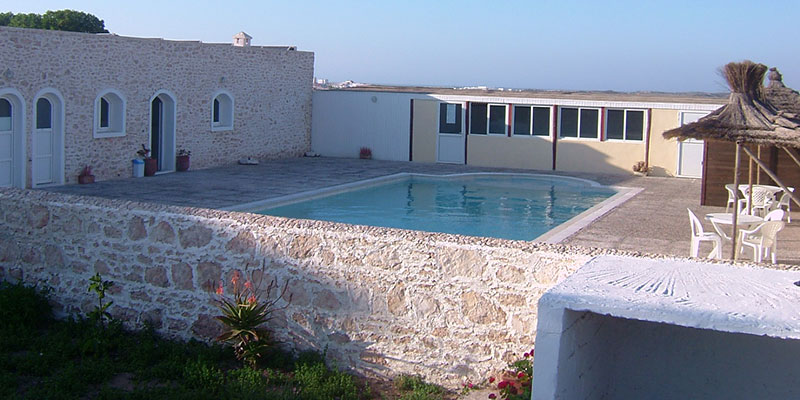 Location vacances camping de la plage essaouira maroc for Piscine demontable maroc
